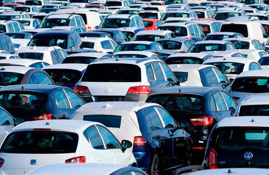 This is the highest annual number of used (imported) cars licensed on record Photo: PA