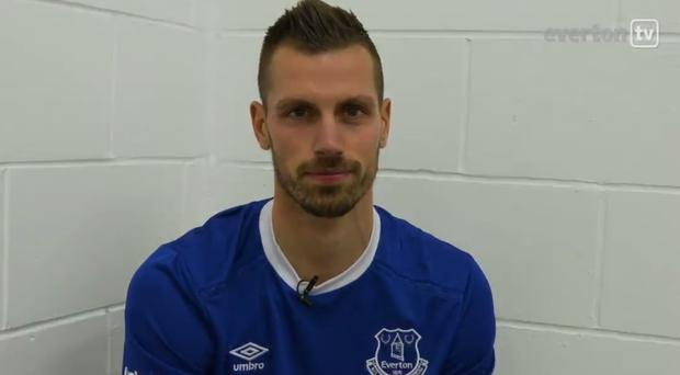 Morgan Schneiderlin is now an Everton player