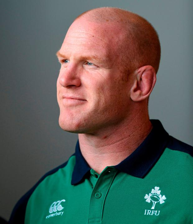 Paul O'Connell has a new role as an advisor to the Greencore Munster Academy Photo: Sportsfile
