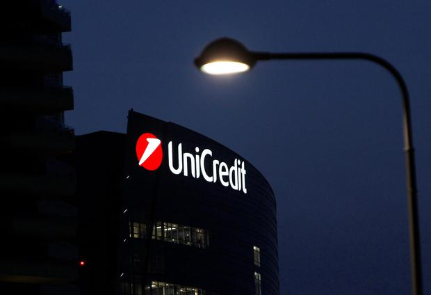 UniCredit Bank headquarters in Milan. Photo: Reuters