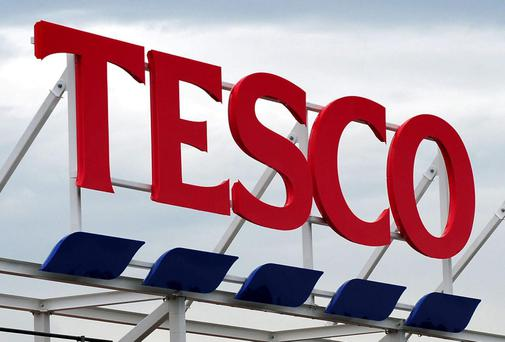 Tesco said that like-for-like sales in Ireland in the 19 weeks to January 7 edged 0.1pc higher. Photo: PA