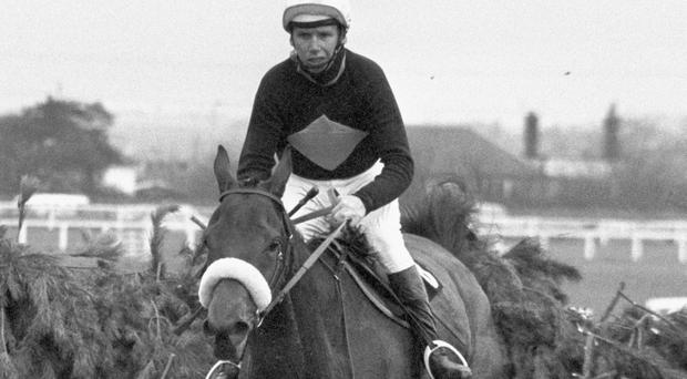 Brian Fletcher riding Red Rum in the Grand National Steeplechase in 1973 Photo: PA/PA Wire