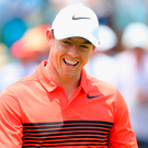 McIlroy: Had plenty to smile about after his opening round Photo: Warren Little/Getty Images