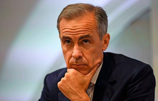 Bank of England governor Mark Carney, told British MPs it would be Europe that would suffer the most post-Brexit. Photo: REUTERS