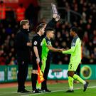 Liverpool's Philippe Coutinho came on against Southampton during the week