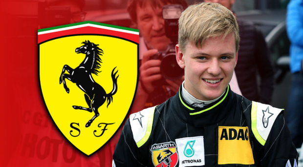 Mick Schumacher has piqued the interest of Ferrari, the team his father drove for in F1. CREDIT: RONNY HARTMANN/AFP/GETTY
