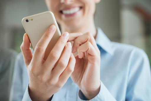 Research shows that just one in seven of us bothered to ditch our mobile-phone provider for another one. Stock image