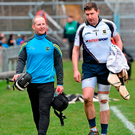 Former Tipp star and current physio Paddy O'Brien alongside former goalkeeper Darren Gleeson in 2015. Picture credit: Ray McManus / Sportsfile