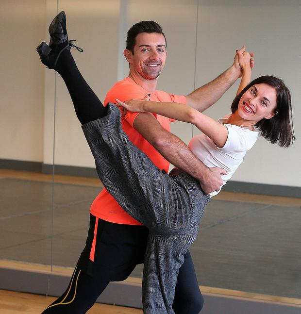 Aidan O'Mahony in Dancing With The Stars. Photo: Damien Eagers