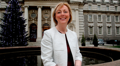 Speculation: Regina Doherty's comments last weekend seemed to open the door to a coalition with Sinn Fein Photo: Tom Burke