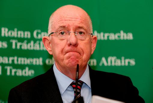 Foreign Minister Charlie Flanagan Photo: Tom Burke