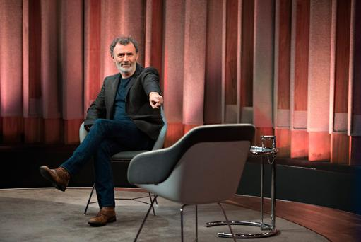 Tommy Tiernan now hosts a chat-show on RTE