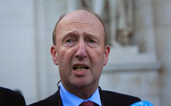 Transport Minister Shane Ross Photo: Gareth Chaney Collins