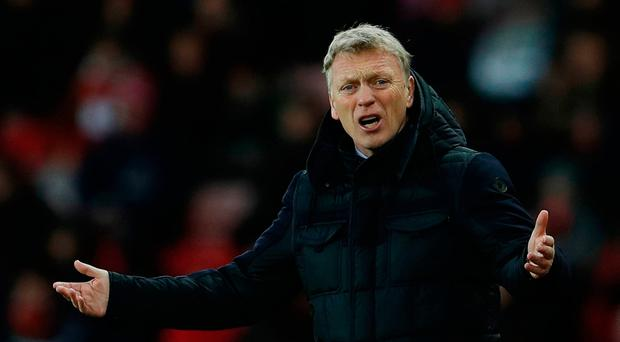 David Moyes is doing all in his power to keep Sunderland in Premier League. Photo: Reuters