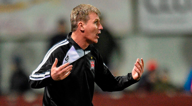 Manager Stephen Kenny had a productive weekend as the signings of Jamie McGrath and Niclas Vemmelund were confirmed, along with a deal to keep top scorer David McMillan at Oriel Park. Picture credit: Paul Mohan / Sportsfile