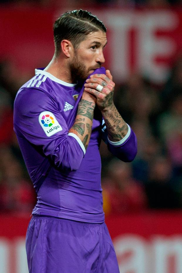 Real Madrid's defender Sergio Ramos. Photo: Getty Images