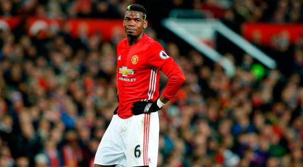 Manchester United's Paul Pogba. Photo credit: Martin Rickett/PA Wire