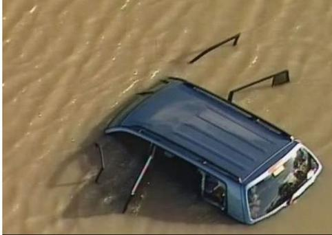 Akon Guode (37) drove her son Bol (1), her four year old twins Hanger and Madit and Alual (6) into Lake Gladham in Melbourne. Only Alual survived the crash. (Photo: ABC)