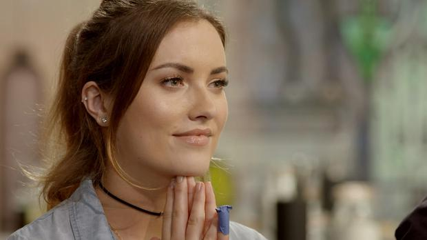 Holly Carpenter. Celebrity MasterChef airs Mondays at 10pm on TV3