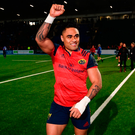 Francis Saili of Munster. Photo by Stephen McCarthy/Sportsfile