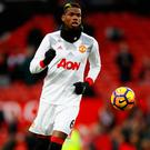 Manchester United's Paul Pogba Picture: Reuters