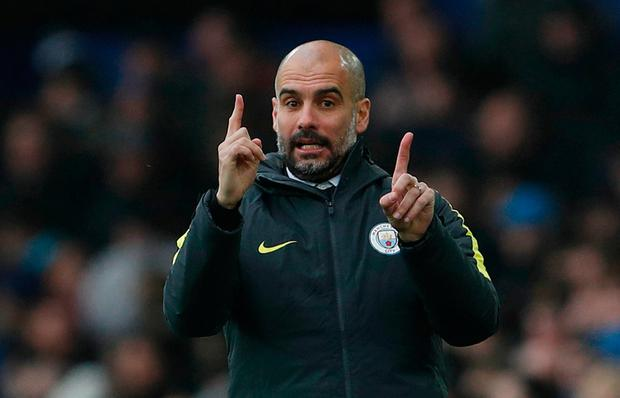 Pep Guardiola is facing mounting problems with Manchester City struggling to find their best form Picture: Reuters