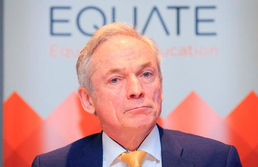 Mr Bruton says he wants to limit or remove the role of religion in school admissions. Photo: Gareth Chaney Collins