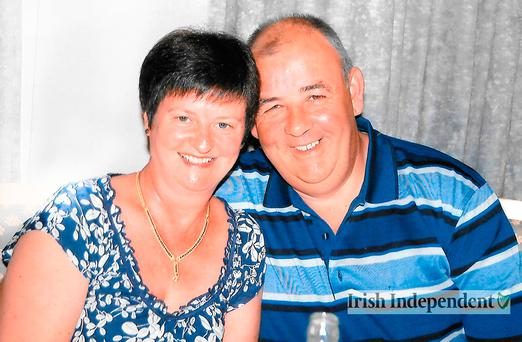 Larry and Martina Hayes, of Athlone, Co Westmeath. Photo credit: Family handout/Irish Independent/PA Wire