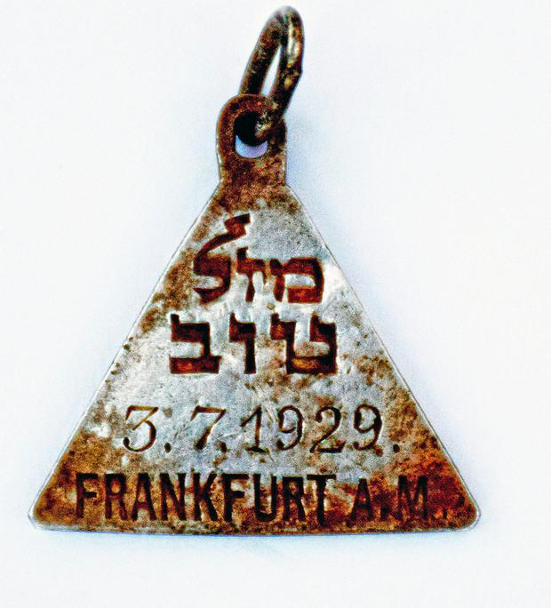 The pendant. Photo: Yoram Haimi, Israel Antiquities Authority via AP