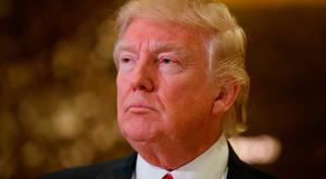 Mr Trump has vowed to pursue a policy that will put American multinationals under pressure to keep their operations in the US, with the threat of heavy penalties weighing over those who are seen to send American jobs abroad. (AP Photo/Evan Vucci)