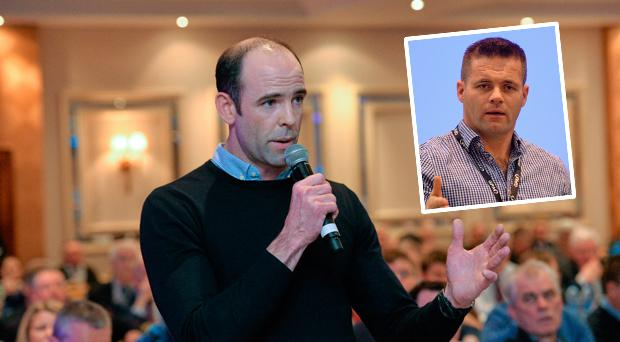 Dermot Earley will take over from Dessie Farrell