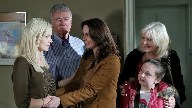 Farrah is set to drop a bombshell on tonight's Fair City