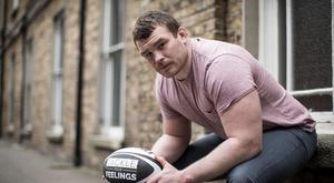 Ireland and Leinster front-row Jack McGrath who speaks emotively about how he coped with the death of his brother by suicide in 2010.