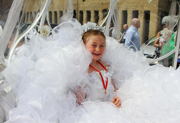 Thelma's clientele spare no expense when it comes to the First Holy Communion