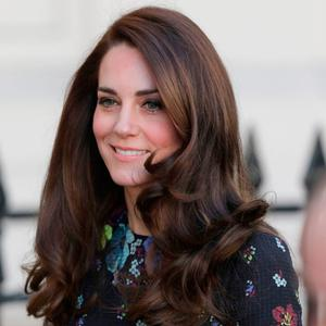 The Duchess of Cambridge arriving at the Institute of Contemporary Art in London where she and the Duke of Cambridge and Prince Harry were outlining the next phase of their mental health Heads Together campaign