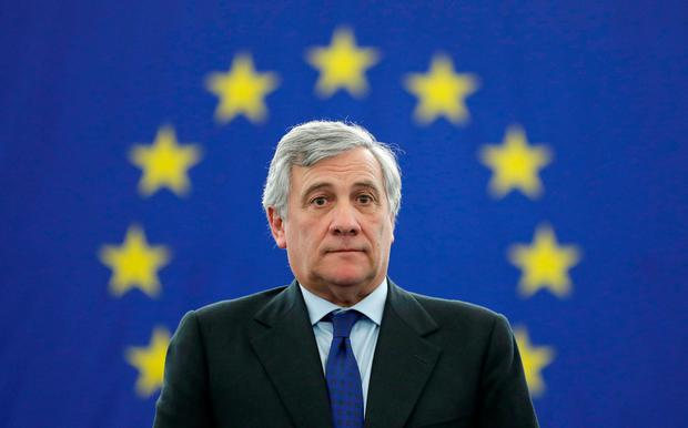 Newly elected European Parliament President Antonio Tajani. Photo: REUTERS/Christian Hartmann