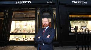 Paul Brereton at the Capel Street store which has been open since 1916