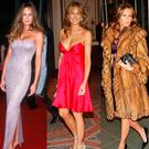 (L to R) Melania Trump from 2003-2005