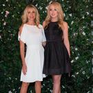 Marla Maples and Tiffany Trump attend Just | Drew presentation at Metropolitan Pavilion on September 8, 2016 in New York City. (Photo by Steve Zak/Getty Images)
