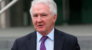 Former Chairman of Anglo Irish Bank, Sean Fitzpatrick (68). Picture: Collins Courts.