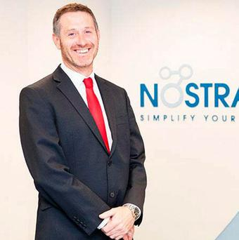 Gary Byrne, founder of Nostra - the company is set to increase its headcount