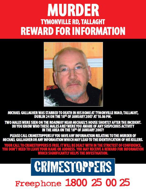 The appeal issued by gardaí