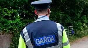 A garda on duty – some GRA members are seeking further wage increases. Photo: Steve Humphreys
