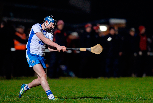 Shane Bennett of Waterford scoring a point for his side. Photo: Eóin Noonan/Sportsfile