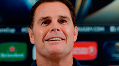 Munster director of rugby Rassie Erasmus Photo by Seb Daly/Sportsfile
