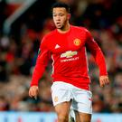 Manchester United's Memphis Depay Picture: PA