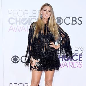 Actress Blake Lively attends the People's Choice Awards 2017 at Microsoft Theater on January 18, 2017 in Los Angeles, California. (Photo by Kevork Djansezian/Getty Images)