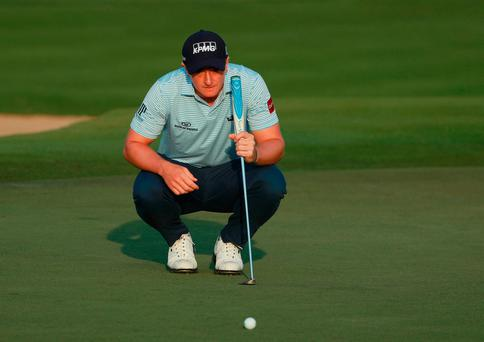 Stenson hits the ground running to take Abu Dhabi lead