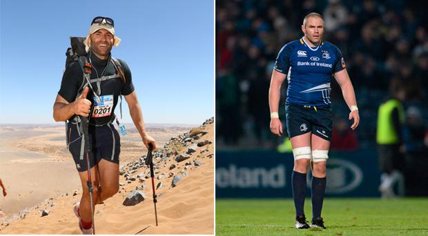 Damian Browne (36) is about to face his toughest challenge yet