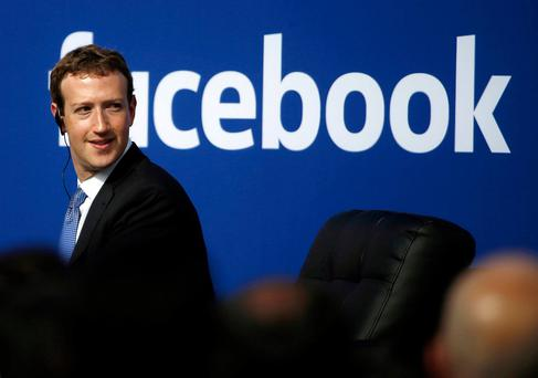 Facebook CEO Mark Zuckerberg. REUTERS/Stephen Lam/File Photo